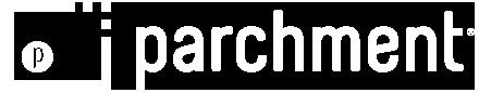 Parchment banner logo