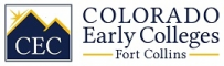 Colorado Early Colleges Fort Collins logo