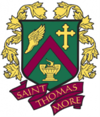 The High School of St. Thomas More logo