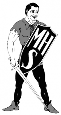 Manchester jr sr High school logo