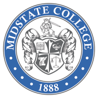 Midstate College (institution closed - credentials administered by Parchment) logo
