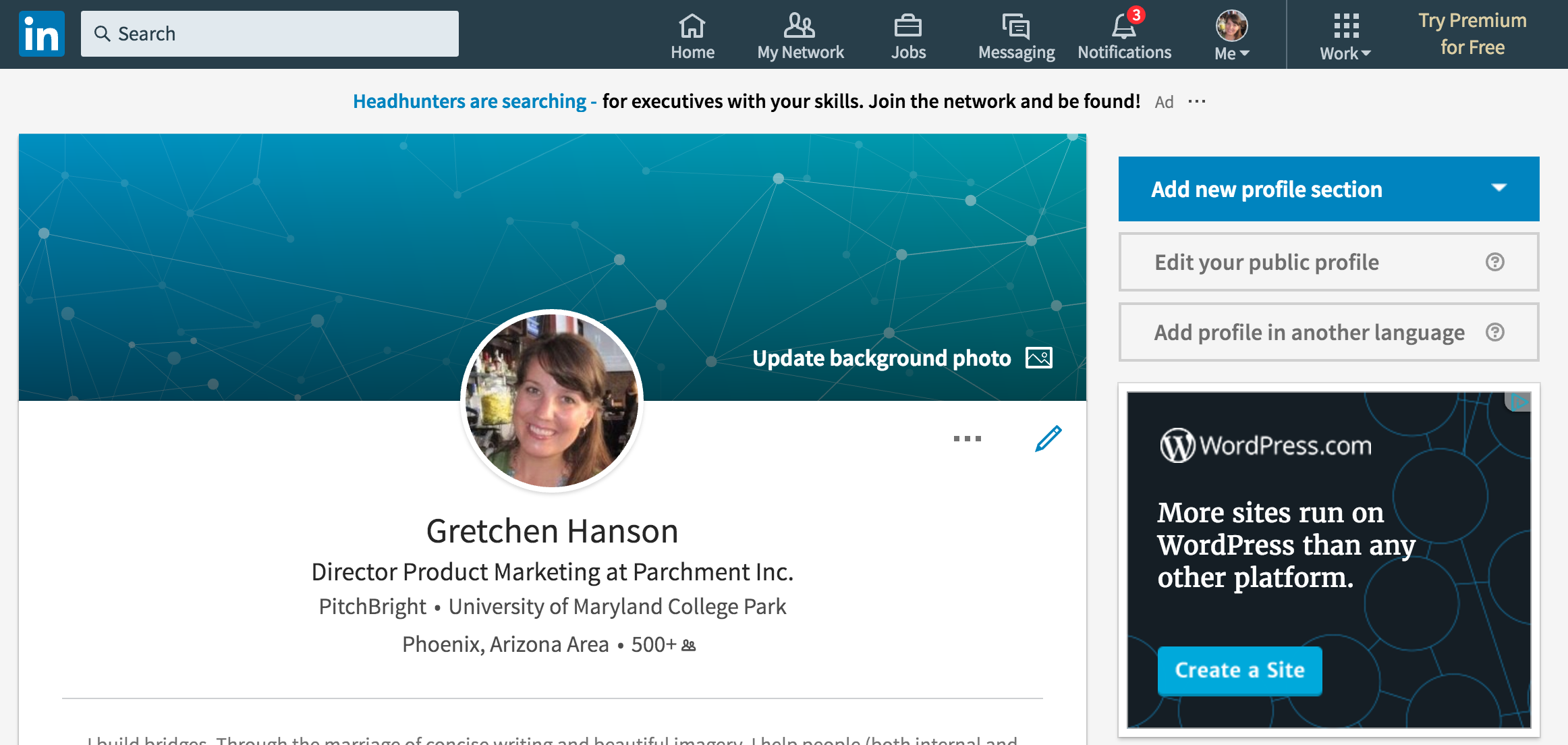 how to add inline certificate to linkedin