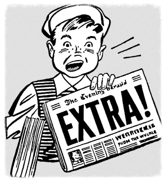 extra extra parchment special edition newsletter parchment